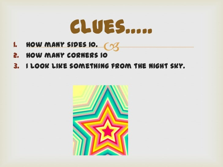 Number Names Worksheets a shape with 10 sides : What Shape Am I?