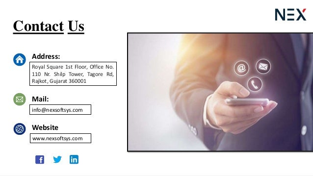 Contact Us Address: Mail: Website Royal Square 1st Floor, Office No. 110 Nr. Shilp Tower, Tagore Rd, Rajkot, Gujarat 36000...