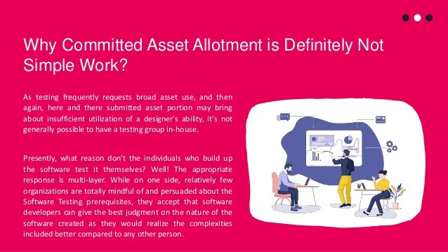 Why Committed Asset Allotment is Definitely Not Simple Work? As testing frequently requests broad asset use, and then agai...