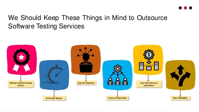 We Should Keep These Things in Mind to Outsource Software Testing Services Software Quality Testing Counts Get Faster Resu...
