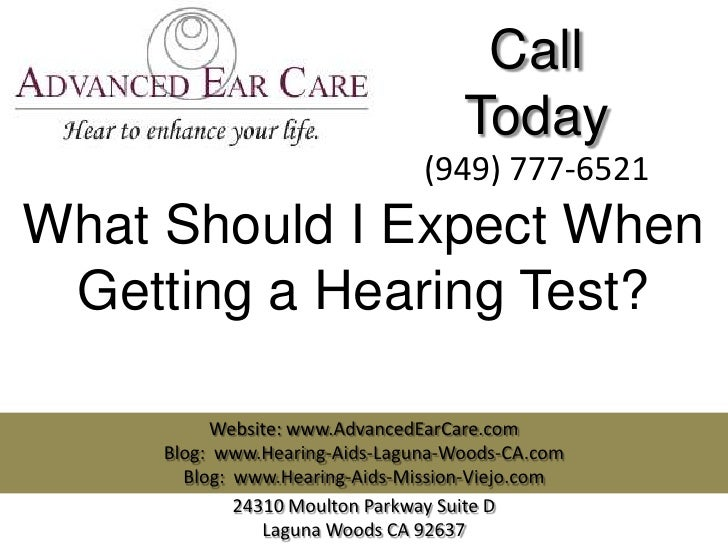 Call                                    Today                                (949) 777-6521What Should I Expect When Getti...