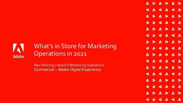 What's in Store for Marketing Operations in 2021