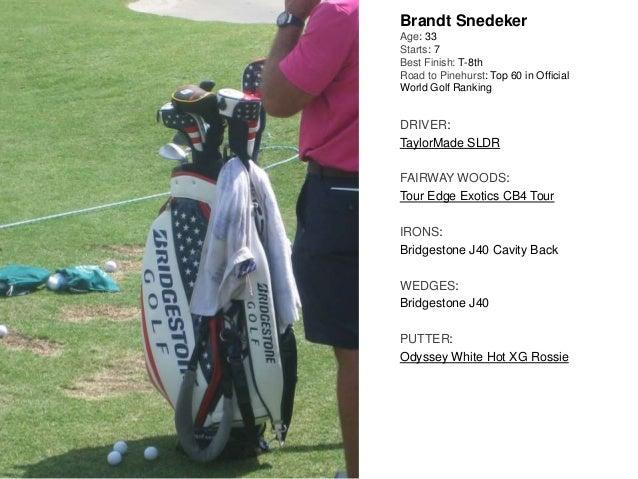 What's In The Bag: 2014 U S  Open, Pinehurst #2