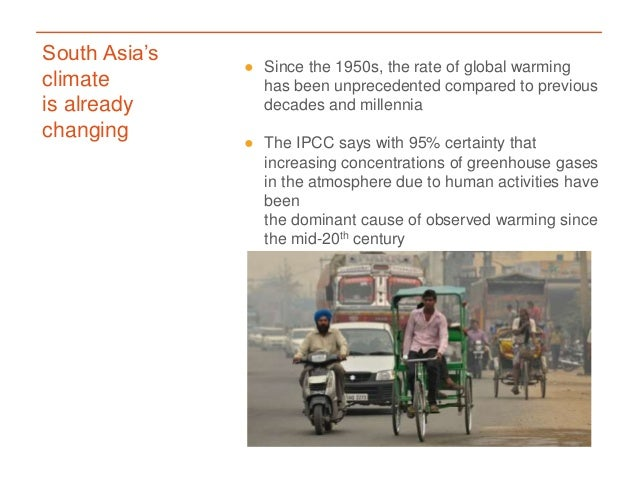 What's in it for South Asia? Key findings from the IPCC's Fifth Assessment Report Slide 2