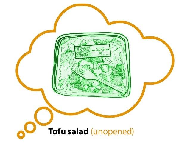 Tofu salad (unopened)