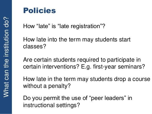 uea late coursework penalties
