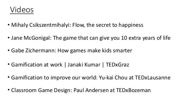 Classroom Game Design Paul Andersen At Tedxbozeman ~ What s life like in the gamification universe