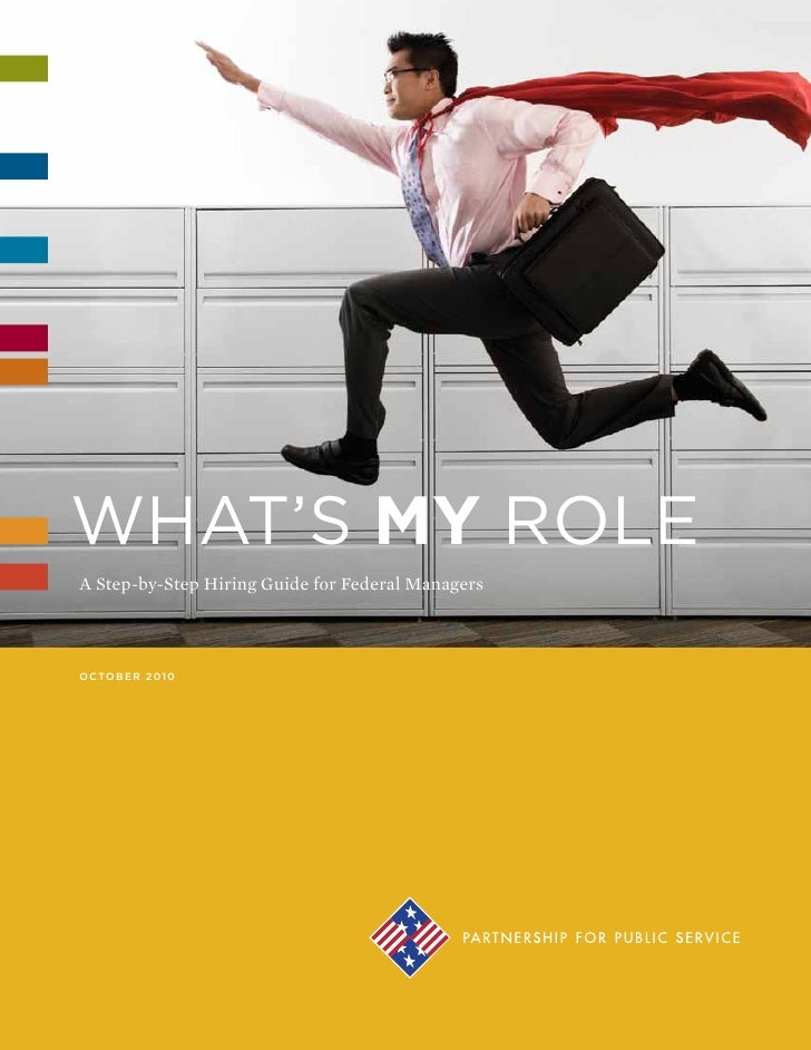 What's My Role? A Step-By-Step Hiring Guide For Federal