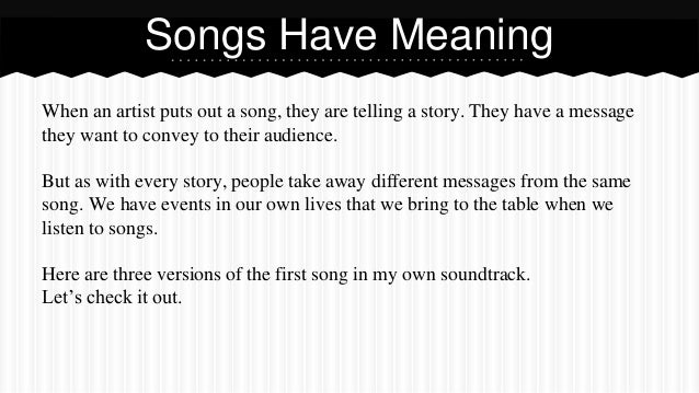 Songs that have