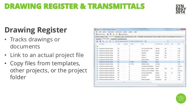 Synergy2014 whats new in synergy 487 and 488 3 drawing register tracks drawings or documents pronofoot35fo Images