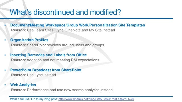 sharepoint 2013 meeting workspace template - what 39 s new and different in sharepoint 2013