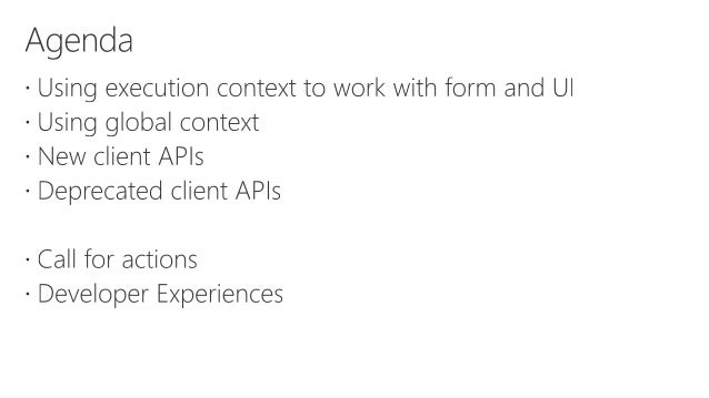 What's new for developers in Dynamics 365 v9: Client API enhancement