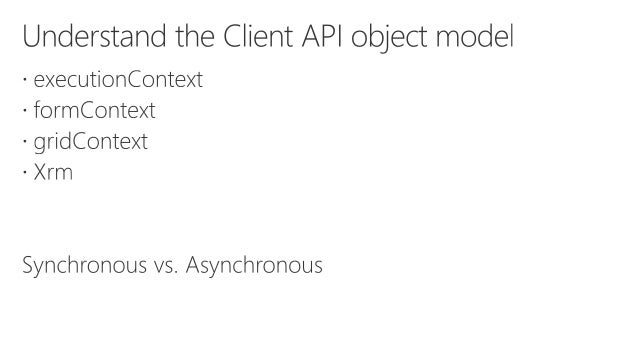 What's new for developers in Dynamics 365 v9: Client API
