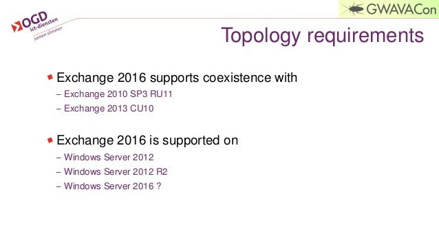 GWAVACon 2015: Microsoft MVP - What's new in Exchange Server