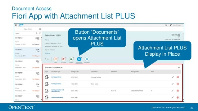 What's New in SAP Extended ECM 16 and SAP Archiving and Document Acce…
