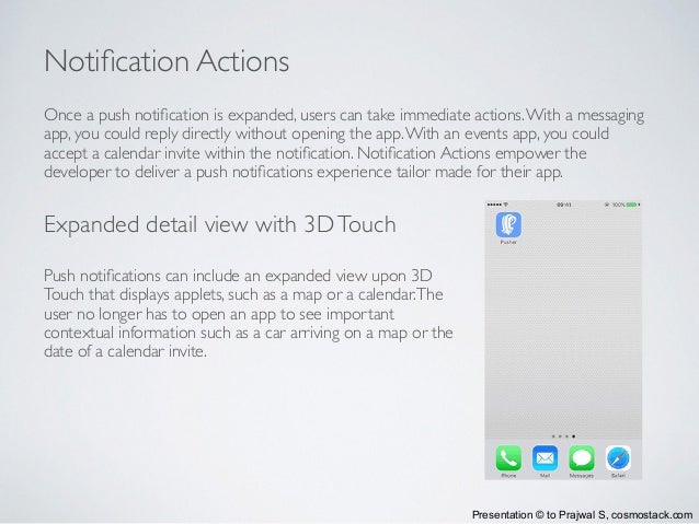 What's new in iOS Push Notifications
