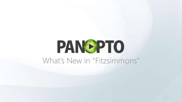"What's New in ""Fitzsimmons"""