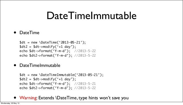 php datetime