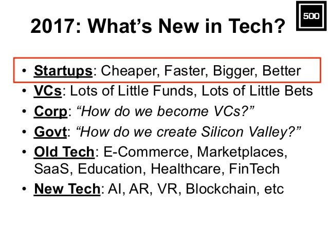 Startup & VC Tech Trends  Slide 4