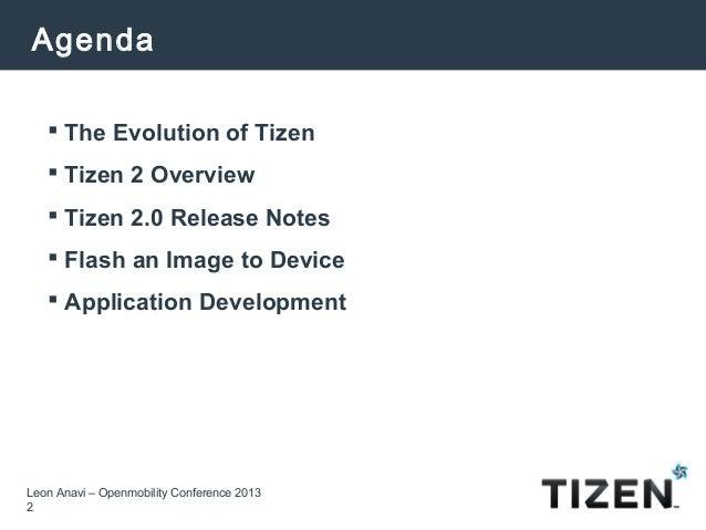 What's New in Tizen 2? Slide 2