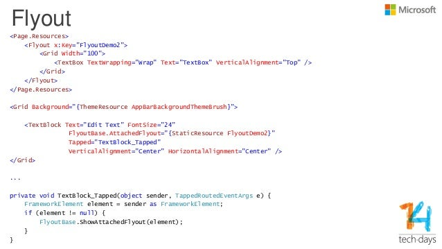 What's new in XAML and Tooling for Windows 8 1