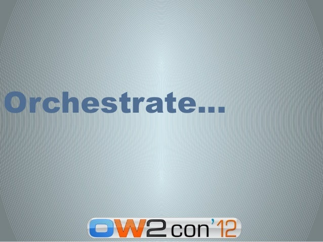 Orchestrate…