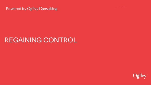 Powered by REGAINING CONTROL