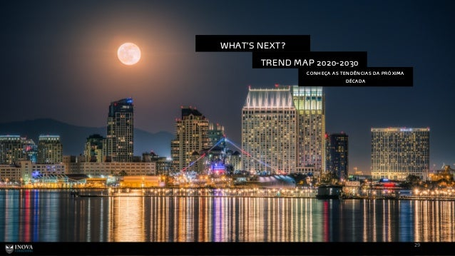 29 TREND MAP 2020-2030 CO N H EÇA AS TEN D ÊN CIAS D A PRÓ XIM A D ÉCAD A WHAT'S NEXT?