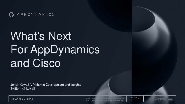 What S Next For Appd And Cisco Appd Global Tour