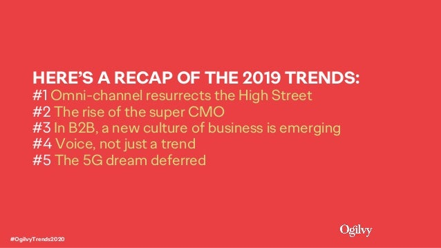 What's Next: Trends for 2020 Slide 6