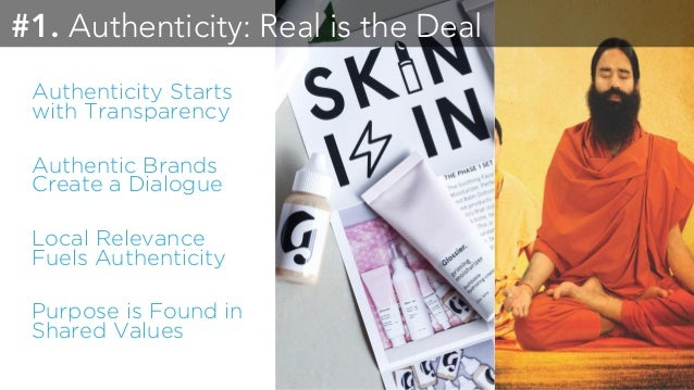 Authenticity & Transparency