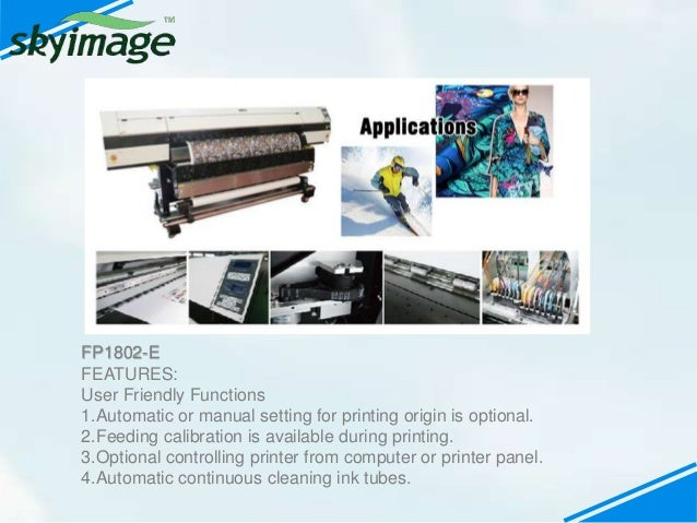 What's oric sublimation fabric printing machine