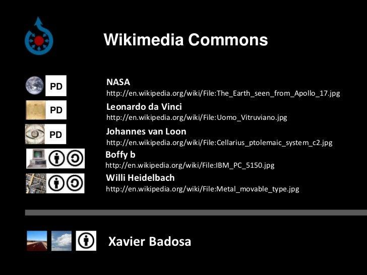 WikimediaCommons<br />NASA<br />http://en.wikipedia.org/wiki/File:The_Earth_seen_from_Apollo_17.jpg<br />Leonardo da Vinci...
