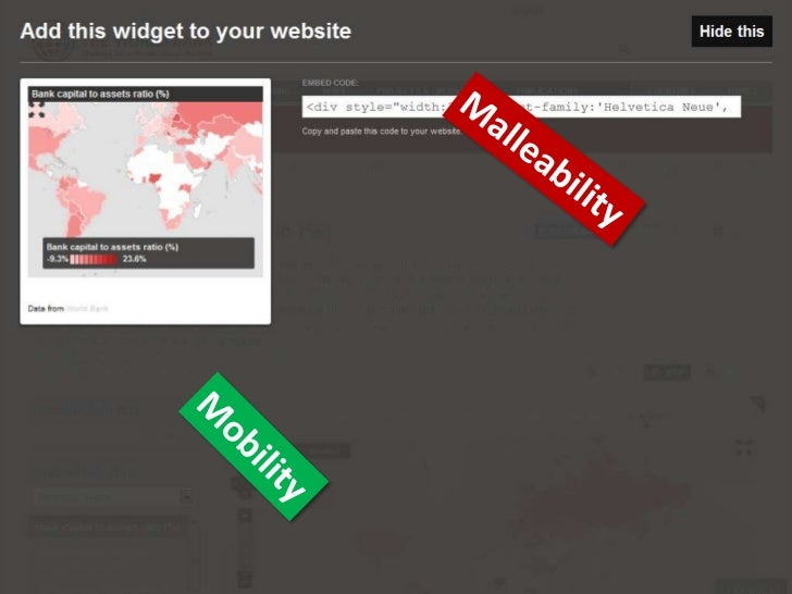Malleability<br />Mobility<br />