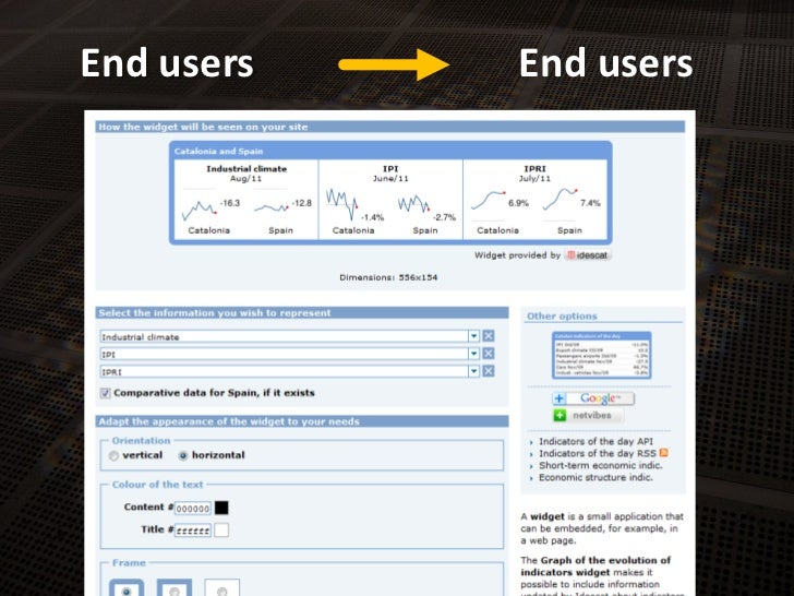 End users<br />End users<br />