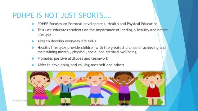 What's so great about pdhpe Slide 2