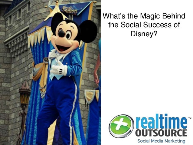 What's the Magic Behind the Social Success of Disney?