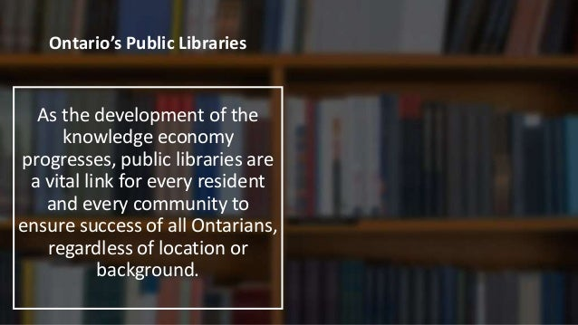 YOUR Public Library We support your goals for learning, recreation, culture and arts, creativity, family, making, and enga...