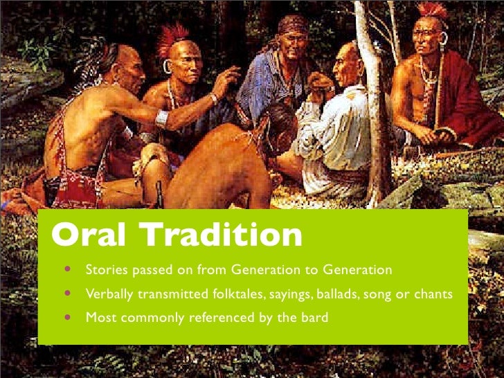traditions of oral storytelling Get an answer for 'what is the significance of storytelling and the oral tradition in preserving a culture—why do people tell storieswhat is the significance of.