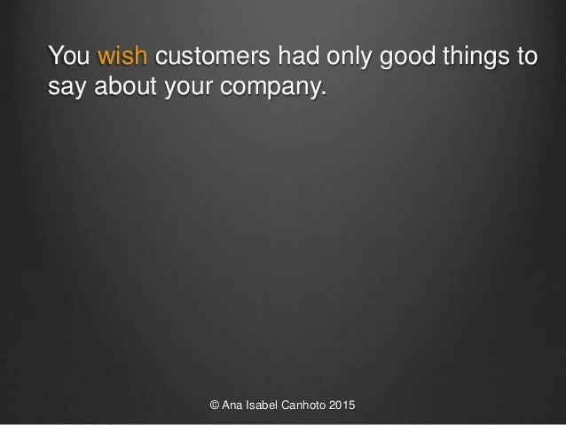 What stops customers complaining to you Slide 3
