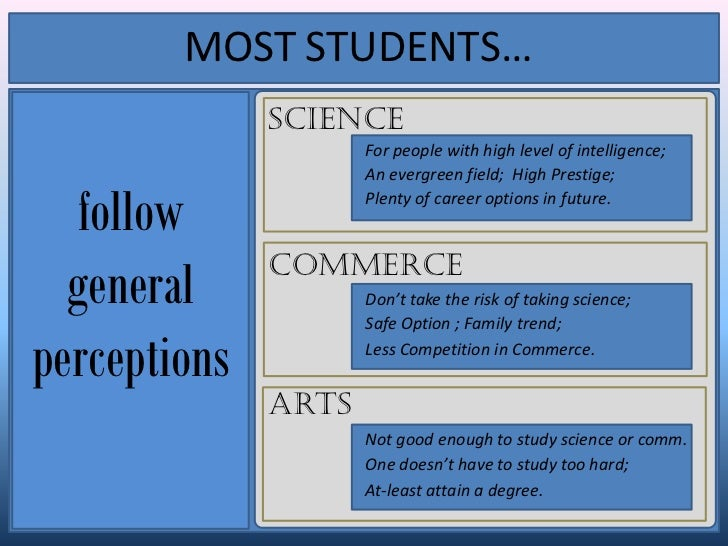 what subjects or career stream to choose in class  5