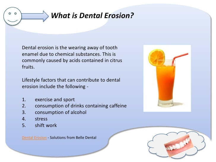 What's up with worn teeth? Slide 3