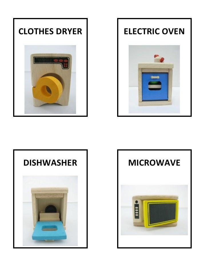 CLOTHESDRYER   ELECTRICOVEN                                                                   ...