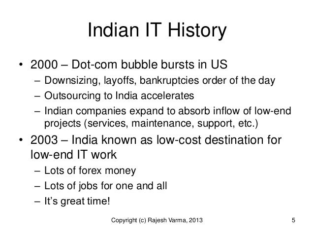 it industry employment statistics in india