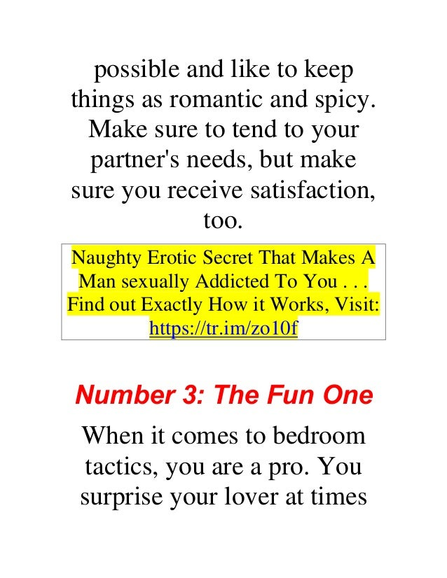 What your sex number says about you