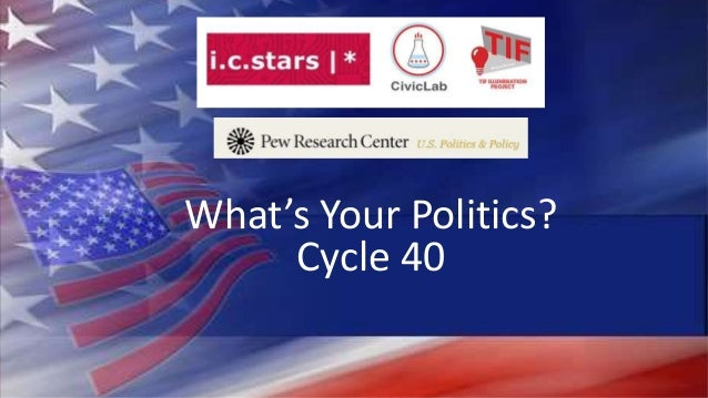 What's Your Politics? Cycle 40