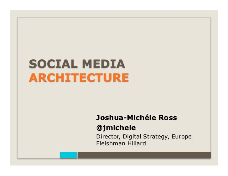 Joshua-Michéle Ross@jmicheleDirector, Digital Strategy, EuropeFleishman Hillard