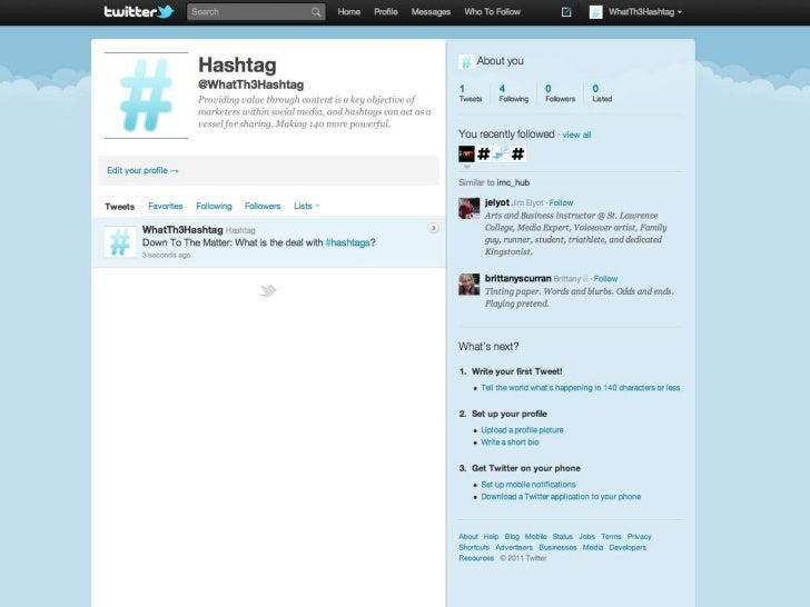 #ReferencesHandy, T. (2011, July 11). Hashtag stuffing doesn't work for B2B Twitteraccounts. social media B2BRetrieved fro...
