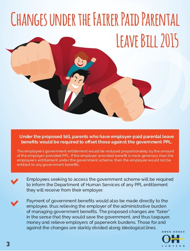 what the proposed changes to paid parental leave could