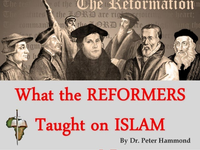 What the REFORMERS Taught onBy Dr. Peter Hammond